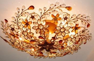 crystal pendant lamp crystal ceiling lamp