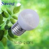1.2w low power led bulb(SG40-24DGLF6)