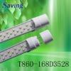 10W t8 led light tube (CE and RoHs)(T860-168DA3528)