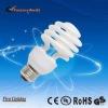 11/13/15/20/23/26w half spiral Cfl energy saving bulb