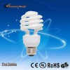 11/13/15/20/23/26w half spiral Cfl energy saving light