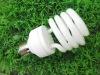 12000hrs Tri-phosphor powder T2 half spiral CFL bulb