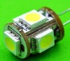 12v 24v DC light GX4.0 base 5050SMD led lamp 360 degree