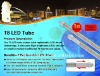 1500mm T8 22W SMD3528 LED tube light with internal replaceable driver M