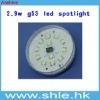 2.9w 163lm gx53 led spot