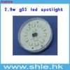 2.9w 163lm gx53 led spotlights