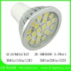 20 SMD5050 led spotlight GU10 3.5W lamp