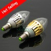2011 hot sellin 3*1W Led Candle Light 240LM CE & RoHS