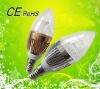 2012 3W led candle bulb with Epistar chip, Competitive price!!