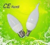 2012 New&Nice 3w ceramic led bulb candle from china factory!