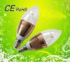 2012 e14 led candle light 1w 3w for indoor with CE&RoHS
