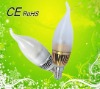 2012 factory wholesale 3w e14 led candle with better price!!