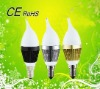2012 led candle bulb for indoor lighting, two years warranty, CE&RoHS