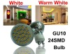 24SMD GU10 LED Light Bulb