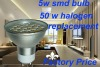 24SMD GU10 LED Light Bulb,Aluminium Body