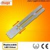 2G11 led tube 8W 100-277VAC 217mm with replaceable driver M