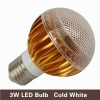 3*1W cold white CE ROHS standards 6000K Epistar chips led lamp