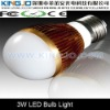 3*1W measuring 49*98mm LED bulb suitable for indoor lighting