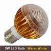3*1W warm white CE ROHS standards 3000K Epistar chips led light