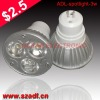 3*1w high power mini led spot light mr16