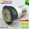 3.5W/3*1w 110v/220v high power e27 dimmable led spot light