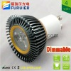 3.5w/3*1w 110v/220v high power gu10 dimmable led spot light