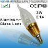 3W LED Candle Lamp With E12/E14/E27 Base