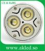 3W LED Spot Lighting 3X1W MR16 /GU10 12V / 100-240V