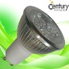 4*1W MR16 GU10 E26 E27 led spot light