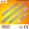 4 pin 2G11 led tube light 8W 12W 16W 20W 100-277VAC with replaceable driver & superior power factor (above 0.95) M