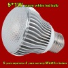 5*1W 3000K warm white CE ROHS standards led tubes
