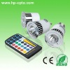 5W GU10 MR16 E27 RGB LED light