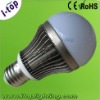5w led energy saving bulb with very good heatsink