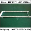 600mm U Shape T8 Tube Light 15W/18W
