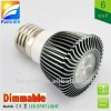 6W/3*2w 110v/220v high power e27 dimmable led spots