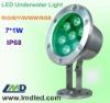 7W LED Light Underwater  IP68/R/G/B/Y/W/WW/RGB Colorful