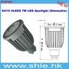 7w aluminium led spot gu10 dimmable