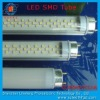 8-25W t8 led Transparent cover tube (3528 led)