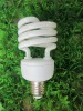 8000hrs 2700K T2 triphosphor powder spiral energy saving lamp