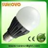 8w LED lamp plastic shell 550-600LM