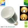 9W 110v/220v e27 led bulb light, replace 80w halogen or 14W Philips CFL directly