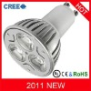 9W High Power GU10 CREE LED spotlight(hot-sale)
