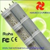 CE FCC ROHS fluorescent light fixture t8 /t10 18w 4 feet 1200mm CLEAR COVER