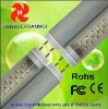 CE FCC ROHS fluorescent light fixture t8 /t10 18w 4 feet 1200mm MILKY COVER