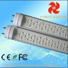 CE FCC ROHS fluorescent lighting fixture t8/t10 MILKY COVER