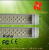 CE FCC ROHS led fluorescent light 12w t8/t10 4 feet 1200mm CLEAR COVER