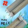 CE FCC ROHS led tube light t8 12w 4 feet transparent
