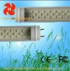 CE FCC ROHS led tube t8/t10 18w 4 feet 1200mm 1.2m 2 years warranty