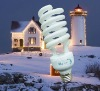 CE high lumen sprial energy saving bulb