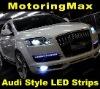 Car White Flexible 15 LED SMD 0603 LED Strip Light